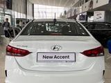 Hyundai Accent 2021 года за 6 390 000 тг. в Шымкент – фото 5