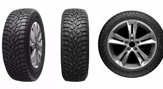 Разноразмерные шины Dunlop SP Winter Ice 02 245/40R20 и 275/35R20 за 400 000 тг. в Алматы