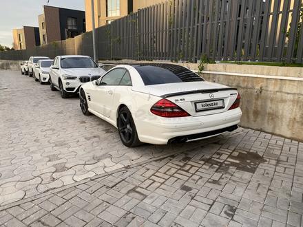 Mercedes-Benz SL 55 AMG 2007 года за 16 000 000 тг. в Алматы – фото 12