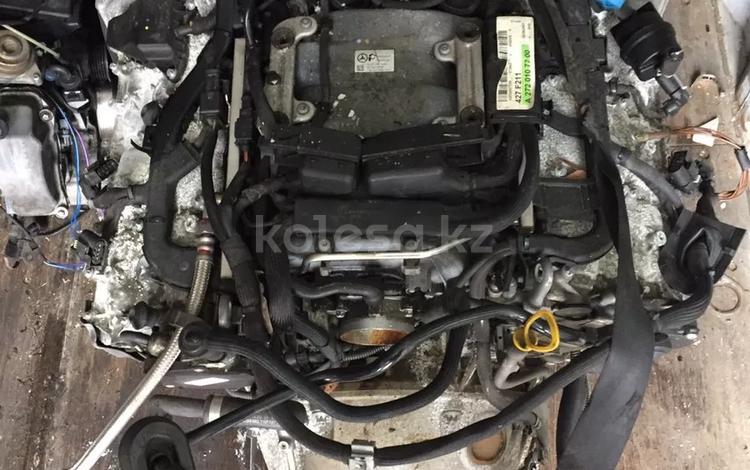 Двигатель м272 3.5 из Японии на Мерседес за 80 000 тг. в Алматы