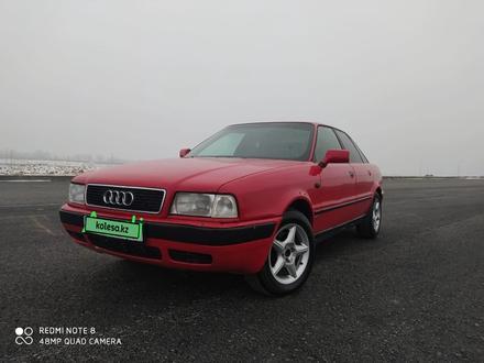 Audi 80 1995 года за 1 700 000 тг. в Шолаккорган – фото 2