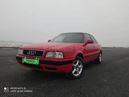 Audi 80 1995 года за 1 700 000 тг. в Шолаккорган – фото 7