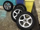 Шины с дисками на бмв Х 5 BMW E53 за 130 000 тг. в Нур-Султан (Астана)