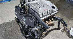 Двигатель АКПП (ДВС) 1mz fe 3.0 литра за 102 321 тг. в Алматы