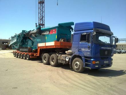 Перевозка спец техники, крупногабаритных и тяжеловесных грузов в Алматы – фото 4