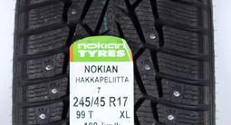Комплект зимних шин Nokian Hakkapelitta 7. 245/45 R17 за 48 000 тг. в Алматы – фото 3