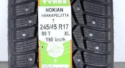 Комплект зимних шин Nokian Hakkapelitta 7. 245/45 R17 за 48 000 тг. в Алматы – фото 4