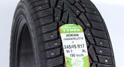 Комплект зимних шин Nokian Hakkapelitta 7. 245/45 R17 за 48 000 тг. в Алматы – фото 2