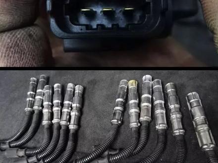 Катушка зажигания с проводами на 112/113 двигатель за 4 999 тг. в Алматы – фото 6