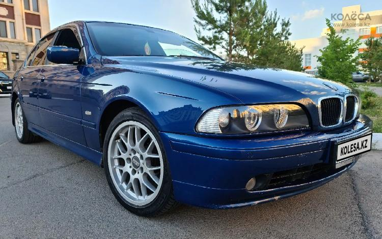 BMW 520 2001 года за 3 400 000 тг. в Нур-Султан (Астана)