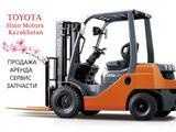 Вилочные погрузчики Toyota (Тойота) в Алматы