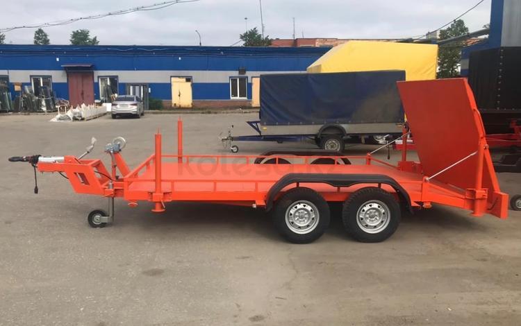 Schmitz  Для перевозки спецтехники и различных грузов С тормоз системой 2021 года за 1 400 000 тг. в Алматы