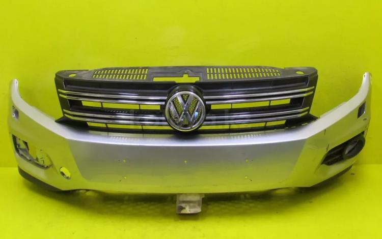 Бампер передний Volkswagen Tiguan 1 (11-16) - за 81 000 тг. в Нур-Султан (Астана)