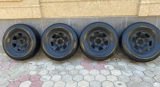 Nokian 275/70/16 с дисками 4 шт. за 250 000 тг. в Кызылорда
