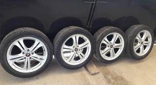 Титановые диски р17 с шинами. Тойота, Мерс, Ауди, Лексус за 72 000 тг. в Кызылорда