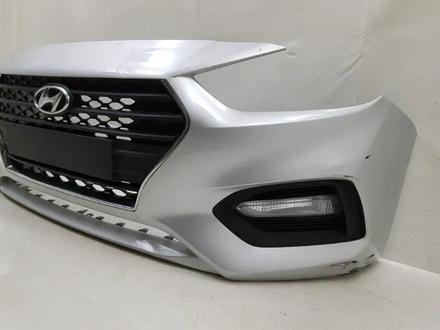Бампер на Hyundai Accent Solaris 2010-2020 за 10 000 тг. в Уральск – фото 2