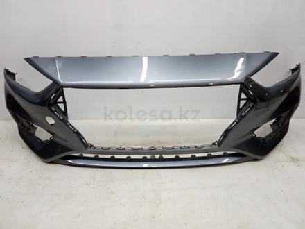 Бампер на Hyundai Accent Solaris 2010-2020 за 10 000 тг. в Уральск – фото 4
