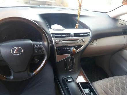Lexus RX 350 2010 года за 8 985 523 тг. в Актобе – фото 6