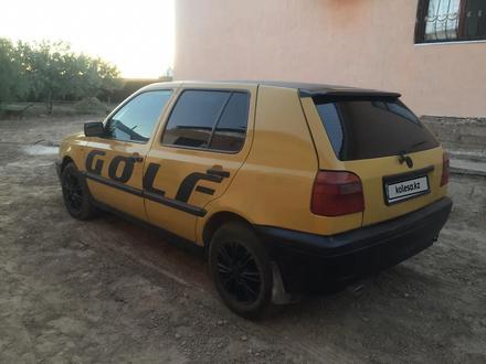 Volkswagen Golf 1992 года за 1 050 000 тг. в Кызылорда – фото 2