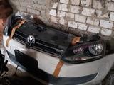 Ноускат морда Volkswagen Polo 5 оригинал из Японии за 300 000 тг. в Караганда – фото 3