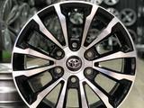 R17 диски Toyota Land Cruiser Prado 155/150/120 за 155 000 тг. в Алматы – фото 2