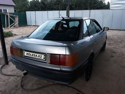 Audi 80 1988 года за 750 000 тг. в Иргели – фото 3