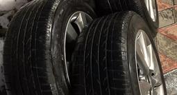 Шины летние Bridgestone 225/55/r18 на дисках r18 на Infiniti/Nissan за 150 000 тг. в Алматы