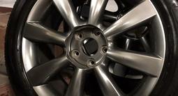 Шины летние Bridgestone 225/55/r18 на дисках r18 на Infiniti/Nissan за 150 000 тг. в Алматы – фото 2