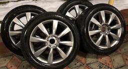 Шины летние Bridgestone 225/55/r18 на дисках r18 на Infiniti/Nissan за 150 000 тг. в Алматы – фото 4