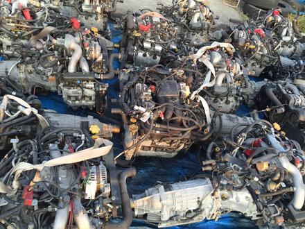 Двигатель акпп на Субару за 555 тг. в Алматы