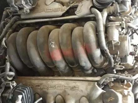 Двигатель Porsche Cayenne 4, 4л турбо (Порше кайен) за 666 тг. в Алматы – фото 3