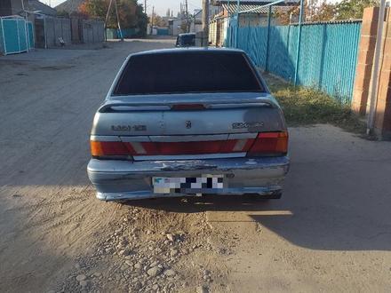 ВАЗ (Lada) 2115 (седан) 2003 года за 750 000 тг. в Тараз – фото 2