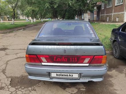 ВАЗ (Lada) 2115 (седан) 2005 года за 650 000 тг. в Степногорск