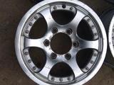 Легкосплавные диски R15 на Toyota Hilux (Китай 6*139.7 ЦО111 6, 5J за 70 000 тг. в Нур-Султан (Астана) – фото 2