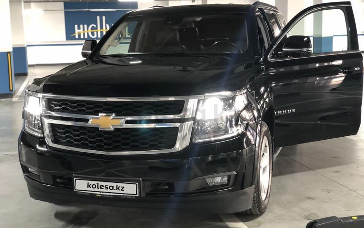 Chevrolet Tahoe 2017 года за 23 000 000 тг. в Нур-Султан (Астана)