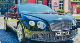 Bentley Continental GT 2015 года за 46 000 000 тг. в Алматы