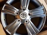 Шины и диски на R-18 на Toyota Land Cruiser за 150 000 тг. в Уральск – фото 5