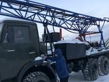 КамАЗ  Буравая установка УРБ 2.5 на базе камаз 1989 года за 8 500 000 тг. в Тараз – фото 2