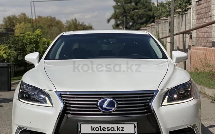 Lexus LS 600h 2013 года за 17 500 000 тг. в Алматы