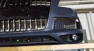 Бампер передний на Audi q7 S-line за 520 000 тг. в Алматы