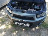 Chevrolet Aveo 2013 года за 3 500 000 тг. в Шымкент – фото 5