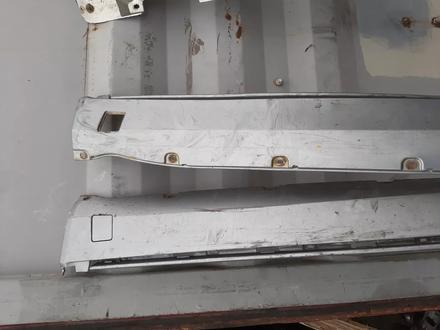 Пороги накладки на пороги Мерседес 190 Mrcedes w201 за 10 000 тг. в Семей – фото 2