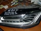 AuDI A8 A 8 D4 фара левая с 13 г… за 375 000 тг. в Алматы