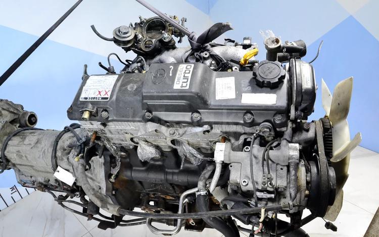 Двигатель Toyota 3.0 8V 1KZ-TE дизель с турбо + за 800 000 тг. в Тараз
