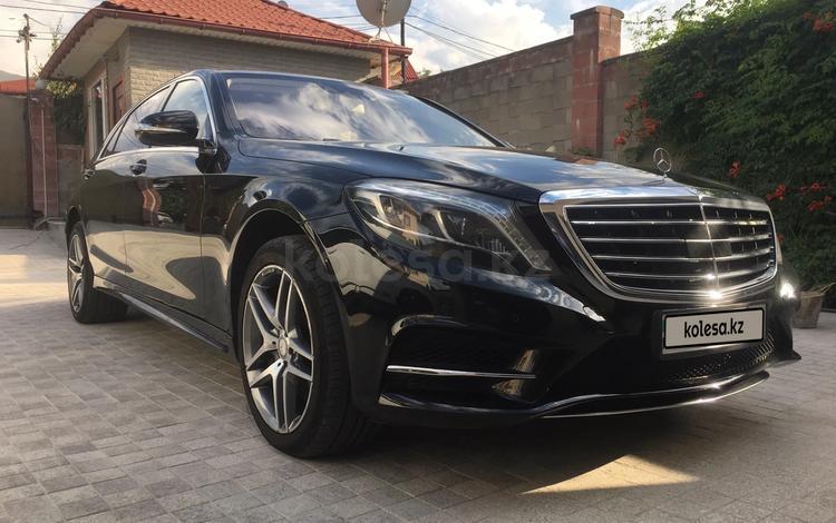 Mercedes-Benz S 500 2014 года за 19 000 000 тг. в Алматы