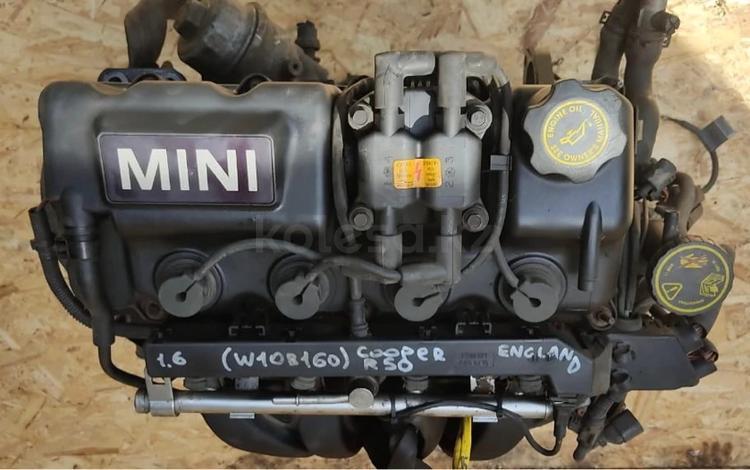 Двигатель 1.6см привозной в наличии Mini Cooper за 160 000 тг. в Алматы