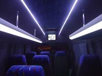 Переоборудование микроавтобусов, c фургона на пассажирский, перетяжка салон в Павлодар