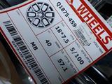 Новые диски VIX design 18/5/100 за 210 000 тг. в Костанай – фото 2