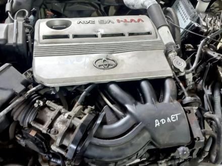 Двигатель (ДВС) Мотор об 3.0 VVT-I Тойота камри 35. Привозной… за 330 000 тг. в Алматы – фото 2