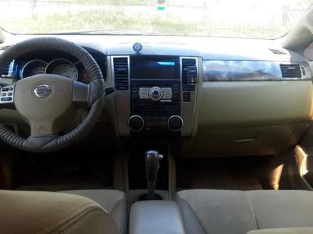 Nissan Tiida 2008 года за 2 000 000 тг. в Актобе – фото 5